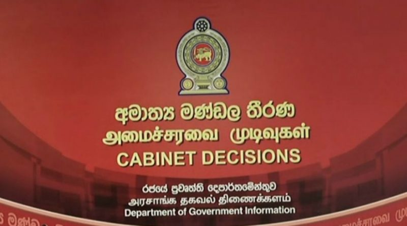 Cabinet Decisions on 17.05.2021
