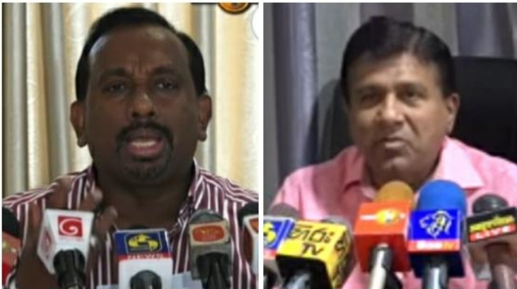 WATCH : Minister Mahindananda comments on President's phone call to MP Wijeyadasa